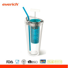 450ML Promotional BPA Free Plastic Travel Sports Mug