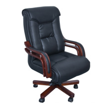 Contemporary Bonded Leather Swilvel Office Chair
