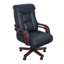 Cadeira de escritório contemporânea Swilvel de couro