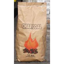 Kundenspezifische Druck-Brown-Kraft-Holzkohle-Papiertaschen