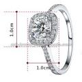 New Style Platinum Bride Gemstone Rings