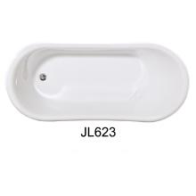 Acrílico y resina construido en la bañera (JL623)