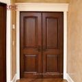 Хорошее качество двойных створок передней двери из массива дерева