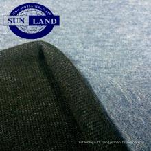 tricot tricoté Tissu en éponge de polyester, polyester, coton coloré.