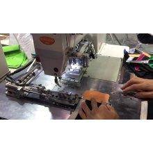 Máquina de costura sutiã automática em zigue-zague