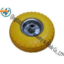 10 * 3.50-4 PU roue, roue en caoutchouc, roue