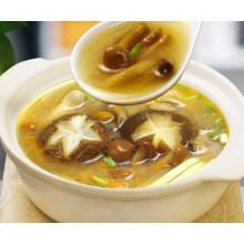 Condimentos de potenciômetro quente do sabor do cogumelo