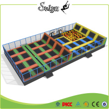 Galvainzed Hot sale Best Design Indoor Trampoline Park for Sale