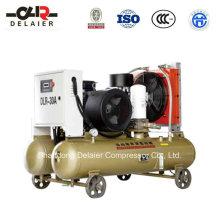 Dlr Energy Saving Portable Screw Compressor Dlr-30aop