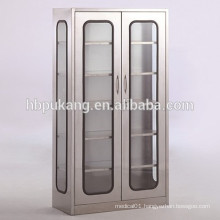 stainless steel hospital instrument cabinet