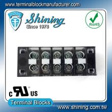 Tab Quick Connect Bloco de terminais de barreira de cobre de baixa voltagem de plástico
