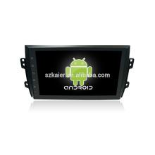 Quatro núcleos! Dvd do carro Android 6.0 para SX4 2013 com tela capacitiva de 9 polegadas / GPS / link espelho / DVR / TPMS / OBD2 / WIFI / 4G