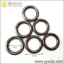 gunmetal color metal spring rings O ring