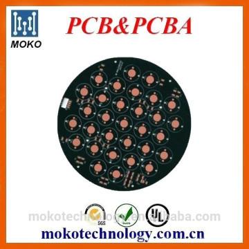 Tablero de aluminio llevado PCB de aluminio de la producción de la fábrica