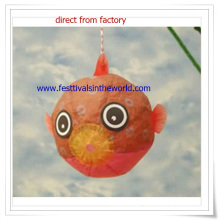 Hanging Decoration Goldfish Paper Lantern for Outside