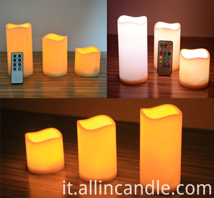 Remote Control LED Candle