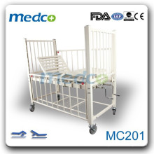 MC201 Lit d'enfant pour hôpital manuel