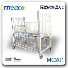 MC201 Cama de criança de hospital manual