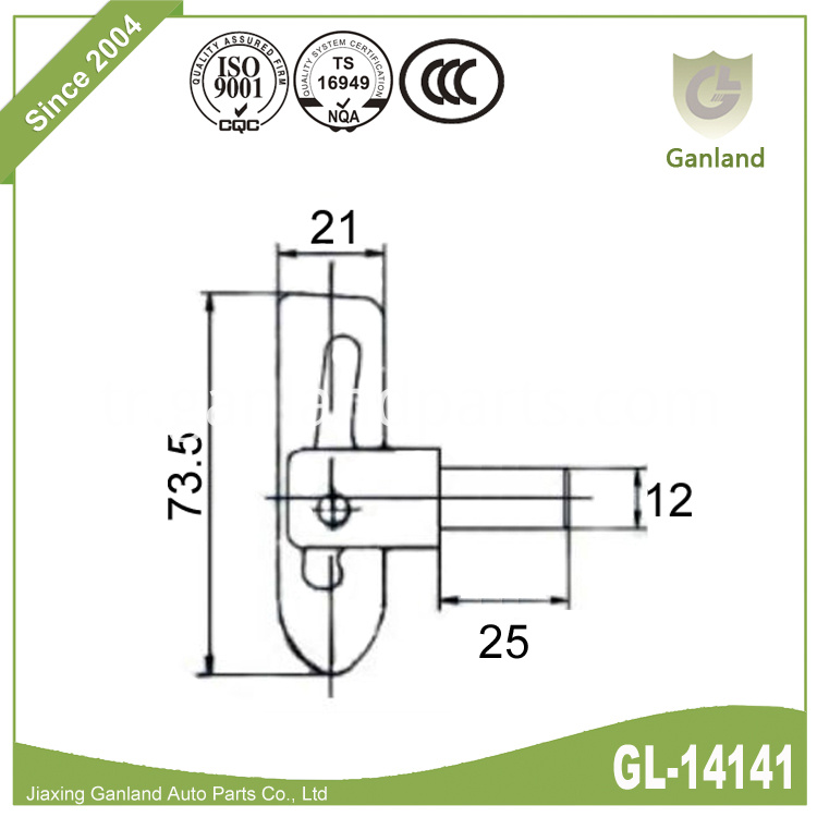 Steel Short Thread GL-14141