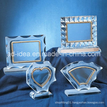 Special Acrylic Display Stand/ Clear Acrylic Photo Frame Exhibition Stand