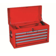 Portable Top Chest Tool Box With 1 Lift - Out Tray For Factory,industrial,garden Tools