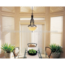 decorative pvc plantation shutter white louver window