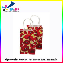 Custom New Design Fashion Paper Shopping Bags