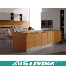 Mobília moderna dos armários de cozinha da melamina do estilo Hmr (AIS-K914)