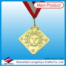 Gold Prismatische Medaille Lanyard
