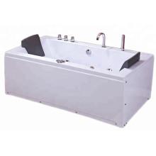 Крытая гидромассажная ванна с гидромассажем