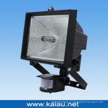 Lâmpada halógena de sensor PIR (KA-FL-500F)