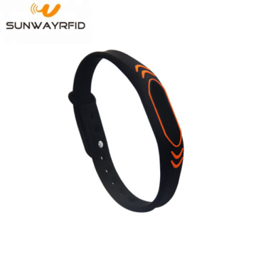 Bracelete colorido do silicone Rfid Wristbands Nfc do esporte