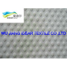 poly cotton Grid jacquard Fabric for Taekwondo