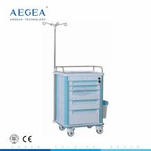 АГ-IT004A1 пять ящиков больнице экономической клиника инфузии пластиковый ящик тележки для продажи