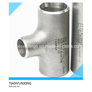 ANSI Seamless Ss304 Ss316 Equal Stainless Steel Tee