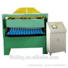 Hangzhou alta calidad galvanizado corrugado hoja de acero que forma la máquina con estándar del CE