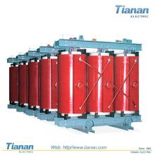 1000 MVA, máx. 170 kV Tipo de secado de resina de transformador de distribución / trifásica / fundida