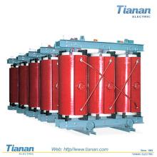1000 MVA, Máx. 170 kV Transformador de distribuição / Resina trifásica / fundida Tipo seco