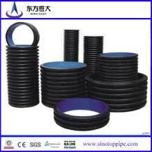 Tubos corrugados y accesorios de doble pared de venta caliente desde China