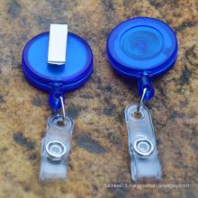 Hot products plastic retractable badge reels /yoyo badge reel