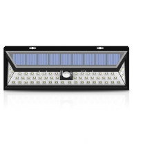 600lm 54 LED Waterproof motion sensor solar grow light led