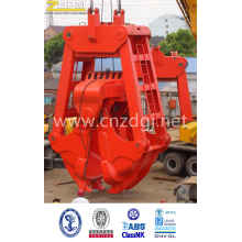 Mechanical Electric Two Rope Grab for Dredging