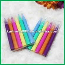 Água cor de caneta conjunto com cores diferentes
