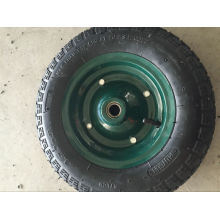 China Manufacture Quality 4pr 2pr Rubber Wheels 4.00-8 3.50-7