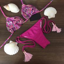 HOT SALE 2016 Summer Bikini High Quality Women Swimsuit  Swimwear Comfortable Simple Bikinis Free Shipping