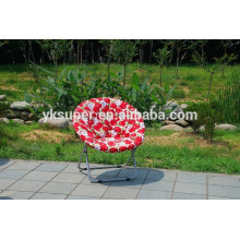 Padded moon chair/folding moon chair/padded folding chair