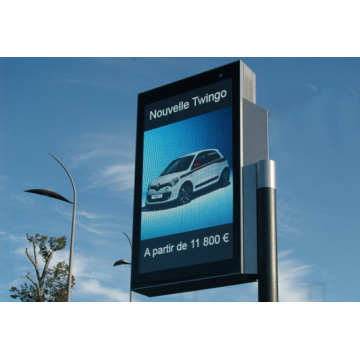 Display a LED per tabellone per le affissioni Smart Pole ad alta risoluzione P6