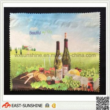 Panos de limpeza de microfibra personalizados de fábrica (DH-MC0409)