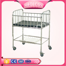 BDB05 Stainless Steel Hospital Children's Bed Hospital infant bed