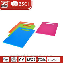 Hot sell Plastic rectangle Cutting Board
